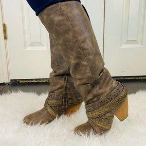 Fall and winter casual boots 7.5